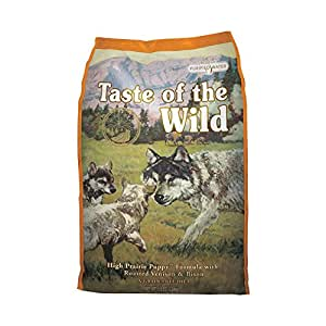 Taste of the Wild Puppy Food High Prairie with Roasted Venison and Bison, 6 kg
