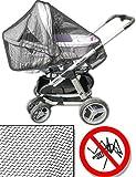 Home Tools.EU–Mosquitera Mosquitera cochecito | universal, apto para cochecito | Line–su bebé contra insectos.