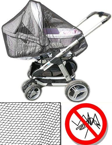 to-Netz, Mücken-Netz für Kinderwagen   Schutz vor Insekten, Mücken, Moskitos, Bienen, Wespen   universell passend für Kinderwagen ()