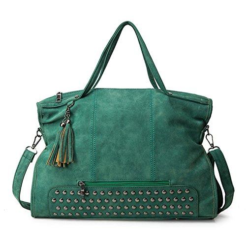 Borse della borsa della borsa della borsa della borsa della borsa della borsa della borsa della maniglia delle borse della Myleas Verde