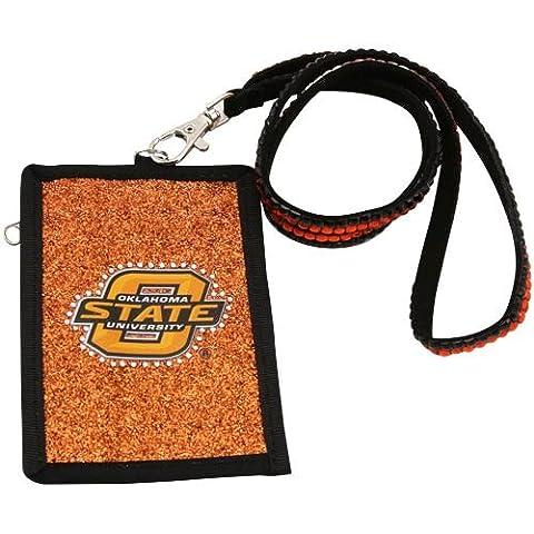 NCAA Perles Cordon en nylon avec portefeuille, Oklahoma State Cowboys