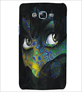 PrintDhaba Daring Eyes D-5446 Back Case Cover for SAMSUNG GALAXY J5 (Multi-Coloured)