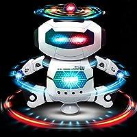 WEofferwhatYOUwant Robot di Dancing per la celebrazione. Alimentazione a batteria con luci e musica. Diversione per la tua casa e l'ufficio