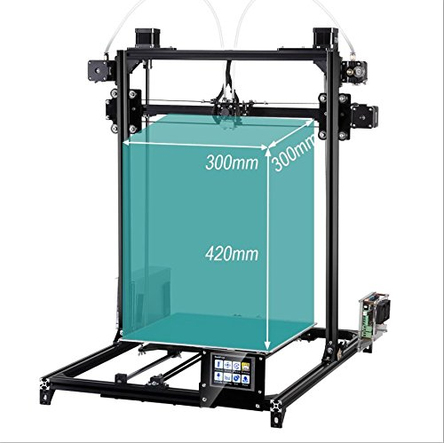 FLSUN 3D – Prusa i3 (C5) Plus (Touchscreen und Dual-Nozzle Version) - 5