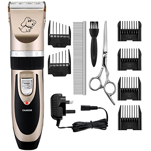Dog Clippers, OMorc Low Noise Pe...