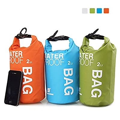 LuckyStone Coloured Drifting Waterproof Dry Bag For Boating, Kayaking, Fishing, Rafting, Swimming, Camping, Canoeing from LuckyStone