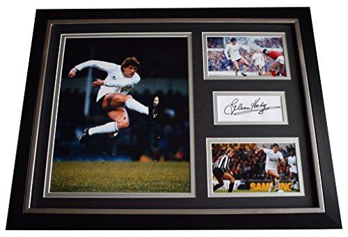 Sportagraphs-Glen-Hoddle-SIGNED-FRAMED-Photo-Autograph-16×12-display-Tottenham-Hotspur-COA-PERFECT-GIFT