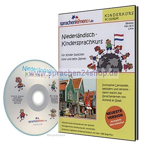 Niederländisch-Kindersprachkurs auf CD, Niederländisch lernen für Kinder