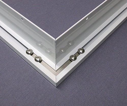 Montageset Einbaurahmen – weiß – 60×60 - 3