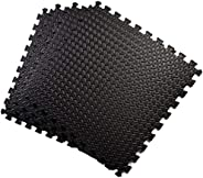 CLISPEED 4pcs Fitness Floor Mat Exercise Play Mat Puzzle Mat Tiles for Gyms Yoga Outdoor Workouts Kids Crawlin