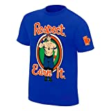 #7: ILYK WWE JOHN CENA RESPECT EARN IT PRINTED COTTON T-SHIRTS