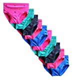 #10: Elk Kids Baby Girls Printed Bright Panty Brief Innerwear 10 Piece Combo