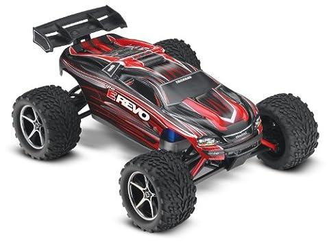 Traxxas TRX71054 - E-Revo Brushed RTR Racing Truggy 2.4 GHz 1:16 4WD, schwarz