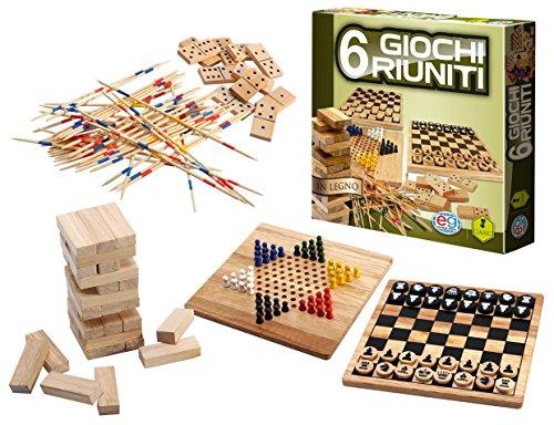 Spin Master Editrice Giochi 6037248 - Juego de Tablero (Party Board Game, Niños y Adultos, Niño/niña, 6 año(s), Interior, Madera)
