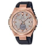 Casio Women's G-MS MSGS200G-1A Watch Rose Gold Black