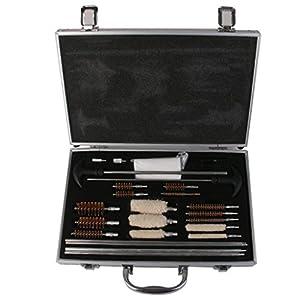 78pcs Arme Universelle Kit Pour Fusil Pistolet Arme De Poing Fusil Nettoyage Nettoyant