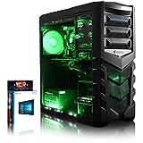 VIBOX vela 3de ordenador Gaming neón verde (Intel Core i7, 16GB de RAM, 1TB, NVIDIA GeForce GTX 980Ti, Windows 10)