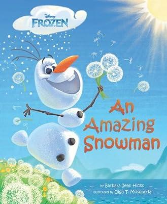 Frozen an Amazing Snowman de Disney Pr