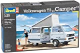 Revell 1:25 Scale Volkswagen T3 Camper Vehicle Model