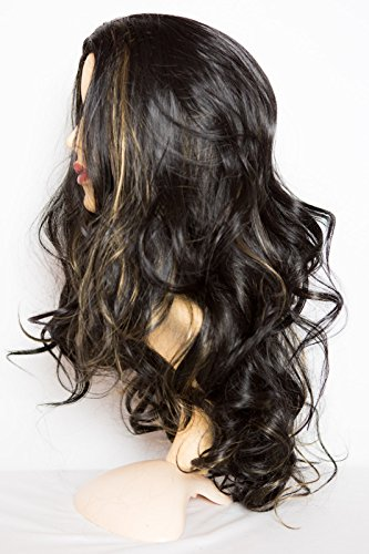 elegant-hair-22-ladies-3-4-half-fall-wig-wavy-style-black-blonde-highlights-1b-h27-high-quality-kane