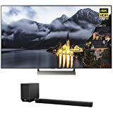 Sony XBR-75X900E 75-inch 4K HDR Ultra HD Smart LED TV (2017 Model) w/ Sony HT-ST5000 7.1.2ch 800W Dolby Atmos Sound Bar