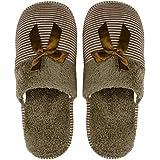 ILU Slipper for Women's Flip Flops Winter Home Fashion Slides Open Toe Non Slip White