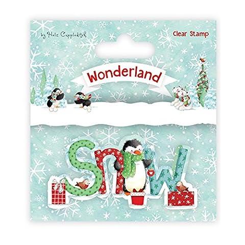 Helz Cuppleditch Wonderland Christmas-Clear Stamp, Photo Polymer, Multi-Colour, 14 x 10 x 0.5 cm