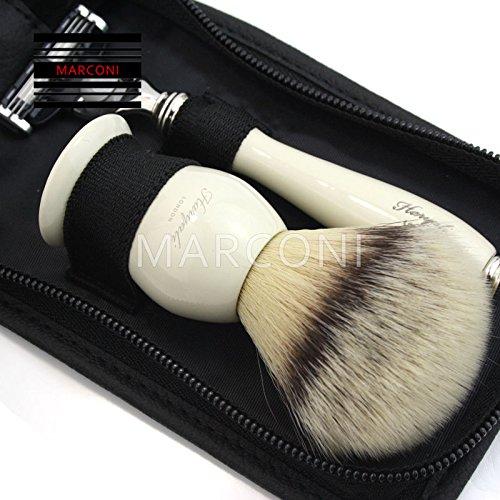 Generic USH kit da viaggio vintage rasatura