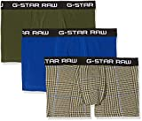 G-STAR RAW Herren Badehose Classic Truk Camo 3-Pack, Mehrfarbig (kit ao/Bright Rovic Green/Hudson Blue A407), Medium