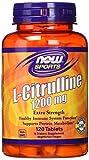 Now Foods L-Citrullin 1,200 mg vegane glutenfrei 120 Tabletten