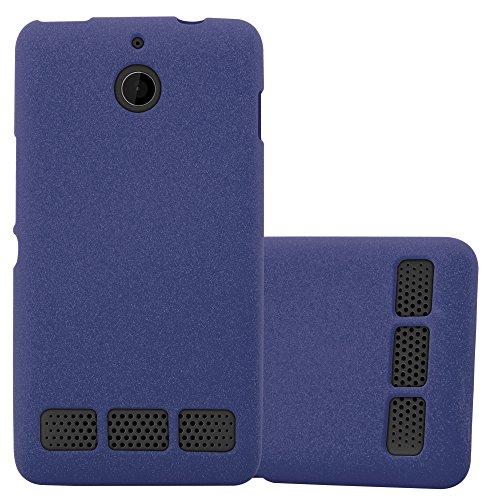 96019c609759 Cadorabo Coque pour Sony Xperia E1 en Frost Bleu FONCÉ – Housse Protection  Souple en Silicone