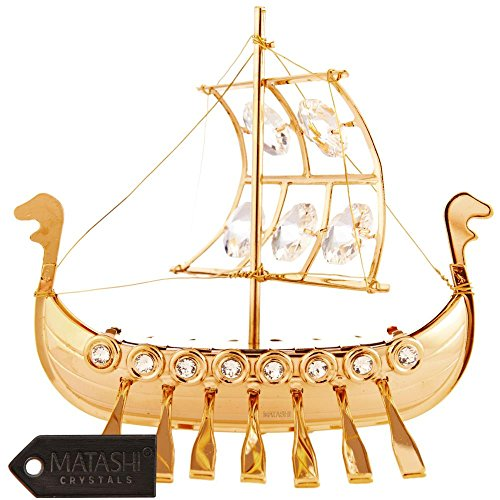 24k-gold-plated-viking-ship-ornament-made-with-genuine-matashi-crystals