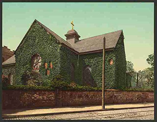 Photo St Pauls Church Norfolk Virginia A4 10x8 Poster Print