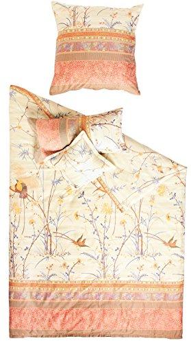 Bassetti Fong V2 Bettwäsche, Satin, Mehrfarbig, 220x155x0.5 cm