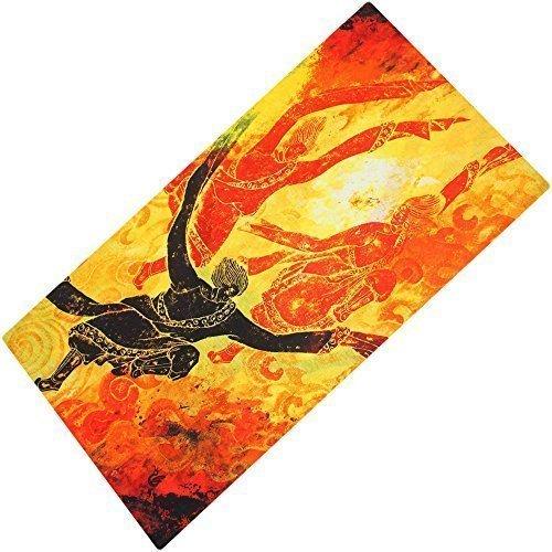 Foulard bandana schlauchtuch multischal foulard multifonction dans un large choix Rouge - Design 15