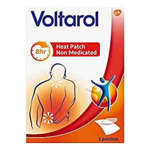 Voltarol Heat Patch Non Medicated Pain Relief - 2 Patches