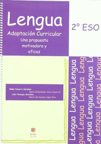 Lengua: Adaptación curricular. 2º de E.S.O.