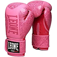 Leone 1947 Maori - Guantes de Boxeo Unisex, Color Rosa, 10 oz M