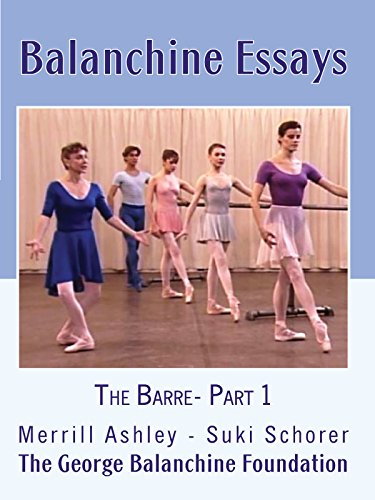 Balanchine Essays: The Barre - Part 1 Cover