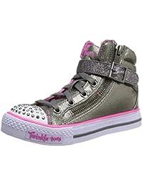 Skechers ShufflesHeart & Sole - Zapatillas de material sintético para niña