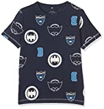 NAME IT Jungen T-Shirt Nitbatman IB SS Top NMT Wab, Blau (Dress Blues Dress Blues), 134