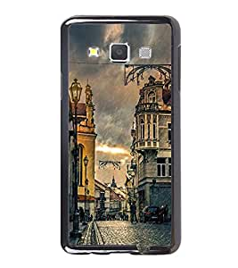 Vizagbeats Raining Streets Back Case Cover For Samsung Galaxy A3