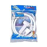 Hamkaw Doccetta Bidet Portatile in Plastica Kit WC Bidet Lavandino Universale per l'igiene Intima, Pet, Pulizia Pavimento, Irrigazione