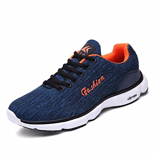 Traspirante Scarpe Running Aria Primaverile Traspirante Running Scarpe Uomini Luce Sport Scarpe Casual Blue