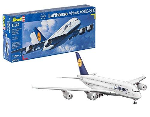 Revell 4270 Lufthansa Airbus A380 - Maqueta de avión comercial Airbus A380 [Importado de Alemania]