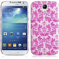JAMMYLIZARD | Damast- Motiv Back Cover Hülle für Samsung Galaxy S4, ROSA