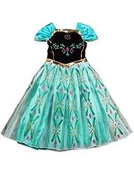 Moin 2015 Hot sale Vestido para Niñas Fiesta Dulce de Princesa hermosa