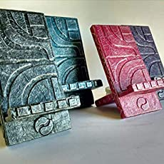 Plumier doble de madera reciclada de palet con grabado ...