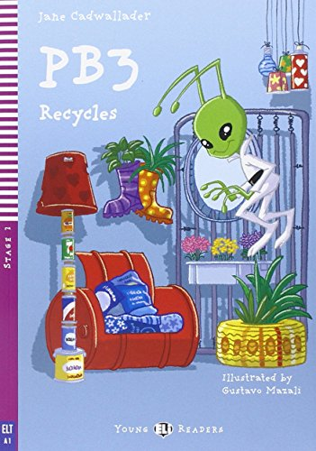Pb3 recycles con cd audio (young readers)