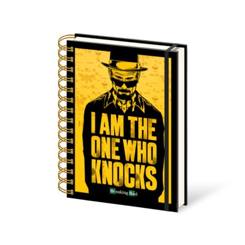 Block Notes A5 Breaking Bad I Am The One Who Knocks
